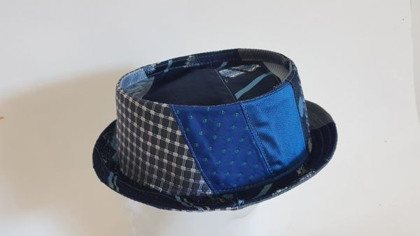 Tie pork pie hat blues One off XL 60 cm