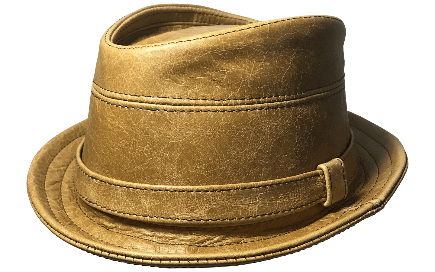 Trilby Hat With Band Whisky